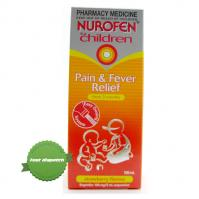Buy Nurofen Childrens Liquid Strawberry 100ml