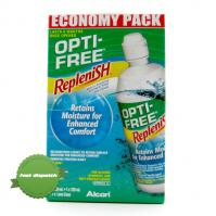 Optifree Replenish Economy Pack Plus Bonus 120ml Solution