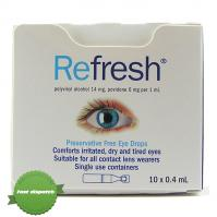 Buy Refresh Eye Drops 10 x 0.4ml