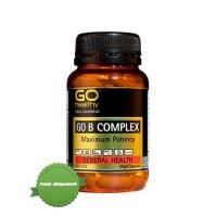 Buy Go Healthy Go B Complex 30 Vegecaps -