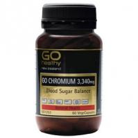 Buy Go Healthy Go Chromium 60 VegeCapsules