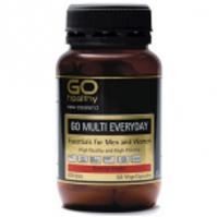 Buy Go Healthy Go Multi Everyday 60 VegeCaps -