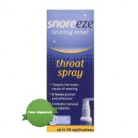 Snoreeze Anti Snoring Throat Spray 23.5ml - Stop Snoring