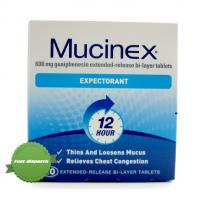 Mucinex Expectorant 12 Hour 10 tablets