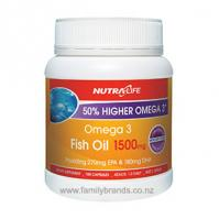 Nutra Life Omega3 Fish Oil 1500mg and Vitamin D Capsules