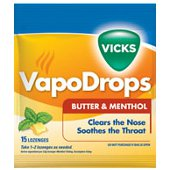 Buy Vicks Vapo Drops Butter Menthol 24s