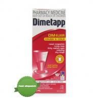 Dimetapp DM COUGHh & Cold Elixir Sugar Free 200ml- New Zealand - Family