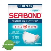 Buy Seabond Original Upper Denture Adhesive Wafers 30