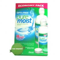 Buy Opti Free Pure Moist Multi Purpose Disinfecting Lens Solution Economy Pack -