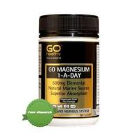 Go Healthy Magnesium 1 Day 500mg 120 Capsules -