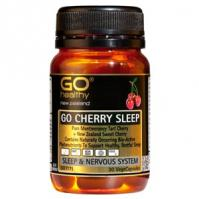 Buy gohealthy cherry sleep 30 veg caps - Speedy Dispatch