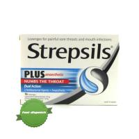 Buy Strepsils Plus Anaesthesia Numbing Throat Lozenges 16s