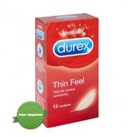 Buy Durex Condoms Thin Feel 12 Condoms online - Ships Fast