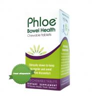 Buy phloe bowel health chewable tablets 120 chewable tabs - Ships Fast