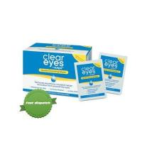 Buy Clear Eyes by Murine Gentle Cleansing Wipes 30 Pack - Ships Fast