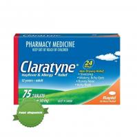 Buy Claratyne Hayfever and Allergy Relief 24 Hour Non Drowsy 60 Tablets