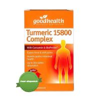 Buy Good Health Turmeric 15800 Complex 30 Capsules - Ships Fast