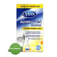 Buy optrex actimist 2in1 eye spray for itchy and watery eyes 10ml