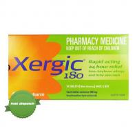 Buy Xergic 180 mg 30 Tablets -