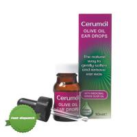 Buy cerumol ear drops olive oil 10ml - Speedy Dispatch