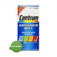 Buy Centrum Advance 50 Plus 100 Tablets - Speedy Dispatch