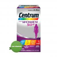 Buy Centrum for Women 50 Plus 60 Tablets - Ships Fast