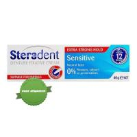 Buy Steradent Denture Fixative Cream Sensitive 40g - Ships Fast