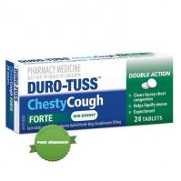 Buy Duro Tuss Chesty Cough Forte 24 Tablets - Ships Fast