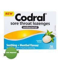 Buy codral throat antibact menthol 16 loz - Speedy Dispatch