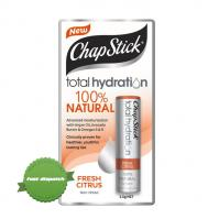 Buy Chapstick Total Hydration 100 Percent Natural Fresh Citrus 3 5 g -Ships Fast