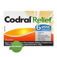 Buy codral relief 6 signs cold and flu 16 ca - Speedy Dispatch