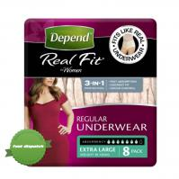 Buy Depend Realfit Women Extra Large 8 Pack - Speedy Dispatch