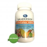 Sanderson Ester-plex 600mg 220 Chewable Vitamin C Fruit Flavour