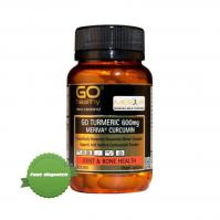 Buy GoHealthy Go Turmeric 600mg 30 Vegecaps - Speedy Dispatch