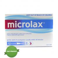 Buy Microlax Enema 12 x 5ml Pack