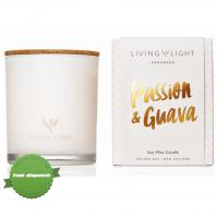 Buy liv light dream soy candle passion guava - Speedy Dispatch