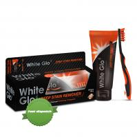 Buy White Glo Deep Stain Remover Activated Charcoal Whitening Toothpaste 150g - Speedy Dispatch