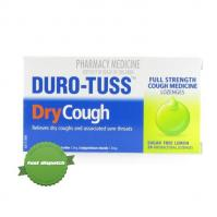 Duro Tuss Lozenges Lemon 24 pack- -