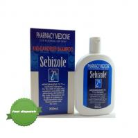 Sebizole 2pc Anti Dandruff Shampoo 200ml