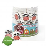 Buy isabelle laurier bath fizzer cow 20g - Speedy Dispatch