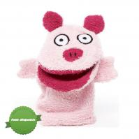 Buy isabelle laurier bath mitt pig - Speedy Dispatch