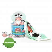 Buy Isabelle Laurier Compressed Flannel Cow - Speedy Dispatch