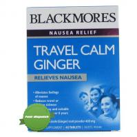 Buy blackmores travel calm ginger tab 45 - Speedy Dispatch