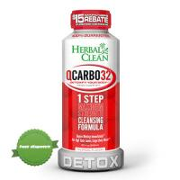 Buy herbal clean q carbo32 1 step max 32oz - Ships Fast