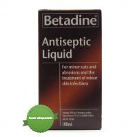Buy Betadine Antiseptic Liquid 100ml -