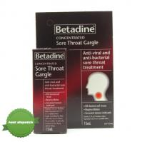 Buy Betadine Concentrated Sore Throat Gargle 15ml -