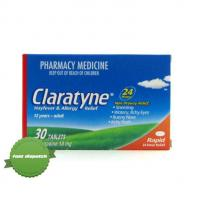 Claratyne Tablet 10mg 30 Tablets Pack 10mg of loratadine -