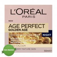 Buy LOreal Age Perfect Golden Age Rosy Redensifying Night Cream 50ml - Speedy Dispatch