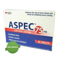 Buy Aspec Tablets 75mg 90