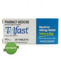 Buy telfast 60mg 20 tablets overnight courier anywhere in NZ